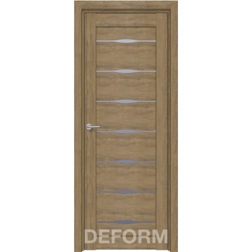 Дверь межкомнатная DEFORM D3 дуб шале натуральный