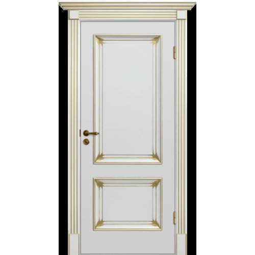 Дверь межкомнатная Динмар Барокко Патина 1