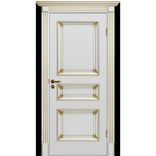 Дверь межкомнатная Динмар Барокко Патина 5