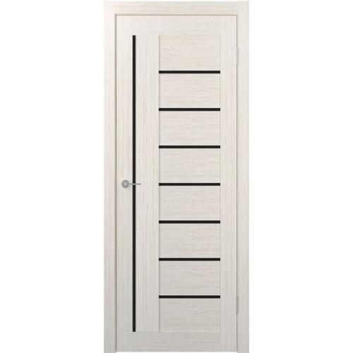 Дверь межкомнатная STARK ST3 (черное стекло)