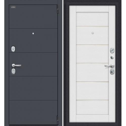 Дверь входная металлическая Эльпорта PORTA S4.Л22 (Graphite Pro/Virgin)