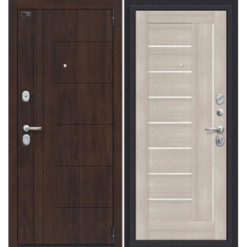 Дверь входная металлическая Эльпорта PORTA S9.П29 (Almon 28/Cappuccino Veralinga)