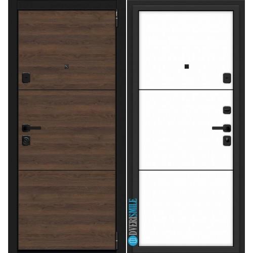 Дверь входная металлическая Эльпорта PORTA M П50.П50 (AB-4) (Tobacco Greatwood/Silky Way)