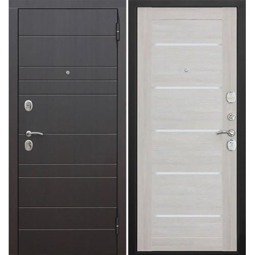 Дверь входная металлическая Гарда Барселона царга (лиственница беж)