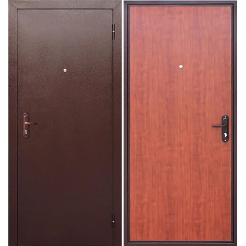 Дверь входная металлическая Стройгост-5 РФ (рустикальный дуб)