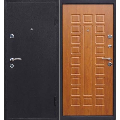 Дверь входная металлическая Йошкар (золотистый дуб)