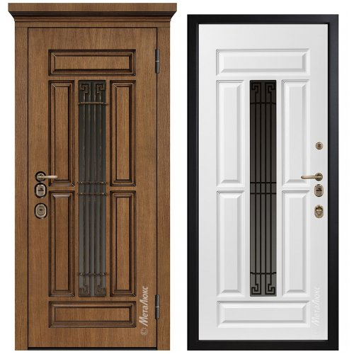 Дверь входная металлическая Металюкс CM1712/3 E2